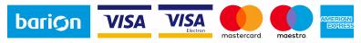 A kényelmes és biztonságos online fizetést a Barion Payment Zrt. biztosítja.